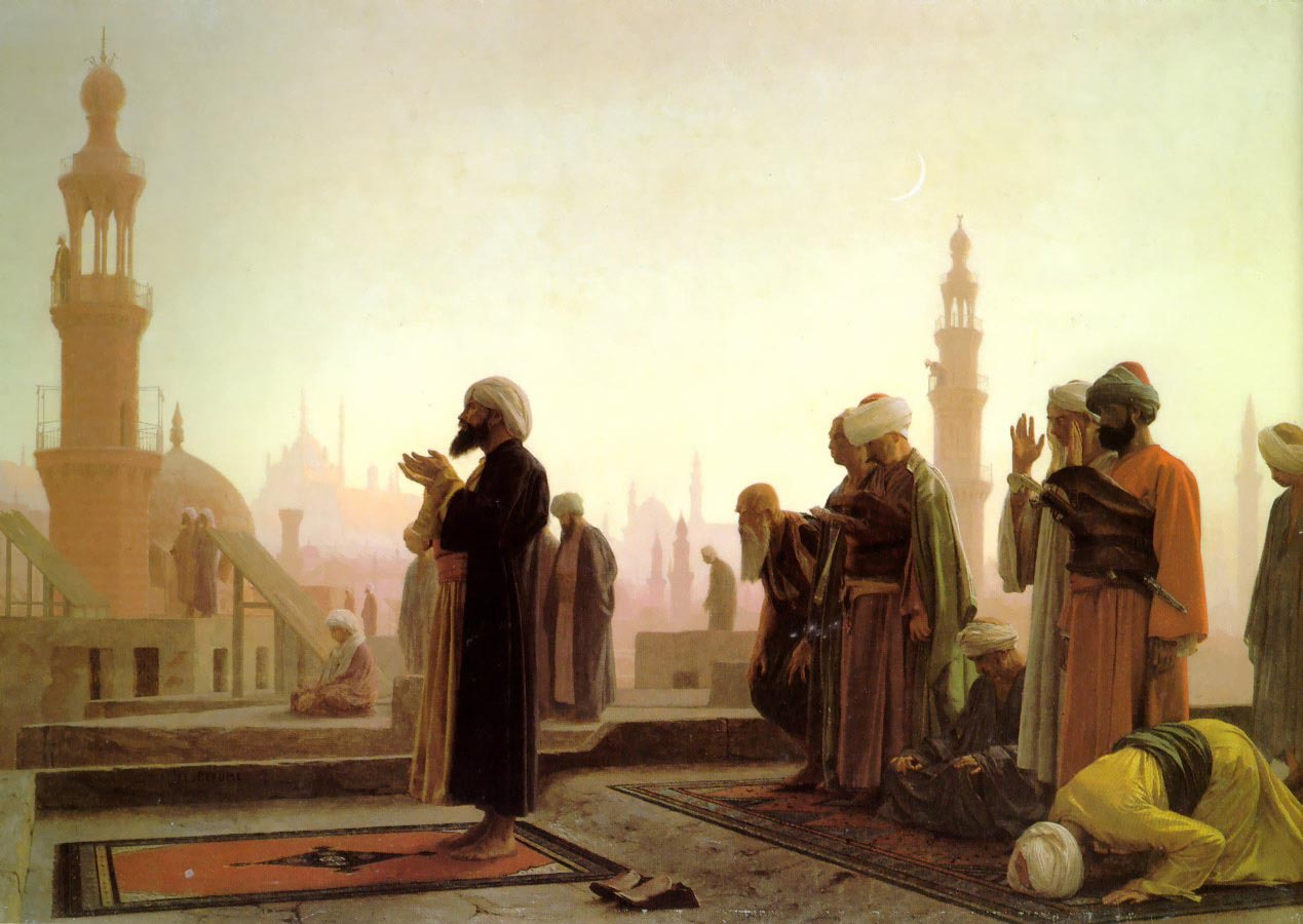 Prayer_on_the_Housetops   gerome
