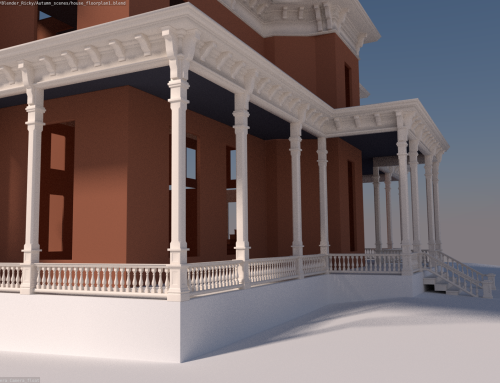 Second Empire Mansion Estate – test6