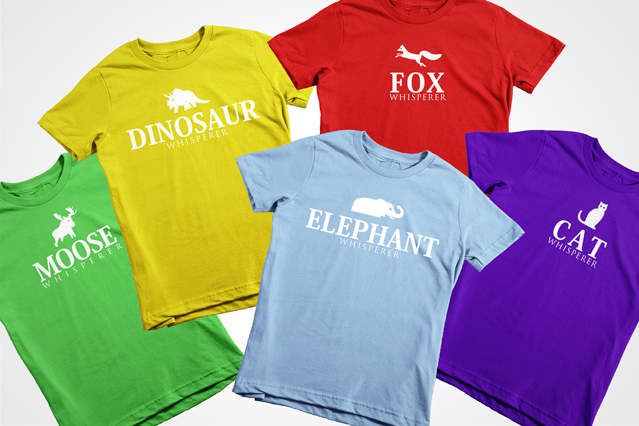 colorful kids t-shirts
