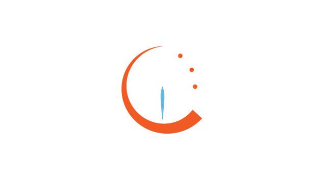 Ricky Colson clock logo